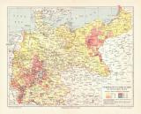 Verbreitung der Juden im Deutschen Reich historische...