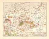 Industrie in Deutschland historische Landkarte...
