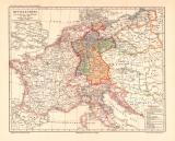 Mitteleuropabeim Beginn der Freiheitskriege historische...