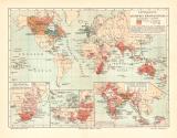 Entwicklung Britisches Kolonialreich historische...