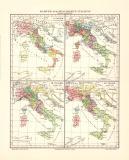 Karten zur Geschichte Italiens historische Landkarte...