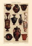 Griechische Vasen I. - II. historischer Druck...