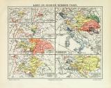 Österreich Ungarn Geschichte historische Landkarte...