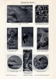 Chinesische Kunst I. - II. historischer Druck Autotypie...
