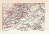 Hafenanlagen Hamburg Harburg historische Landkarte...