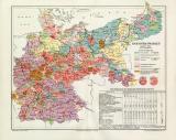 Reichstagswahlen 1912 Stand 15.12.1912 historische...