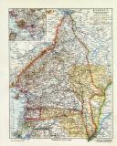 Kamerun mit Neuerwerbungen November 1911 historische...