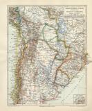 Argentinien Chile Bolivien Uruguay Paraguay historische...