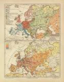 Europa Völker Sprachen Bevölkerungsdichtigkeit...