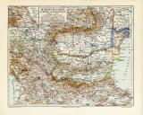 Rumänien Bulgarien Serbien Montenegro historische...