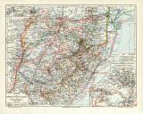 Südafrika Kriegsschauplatz 1899-1902 historische...